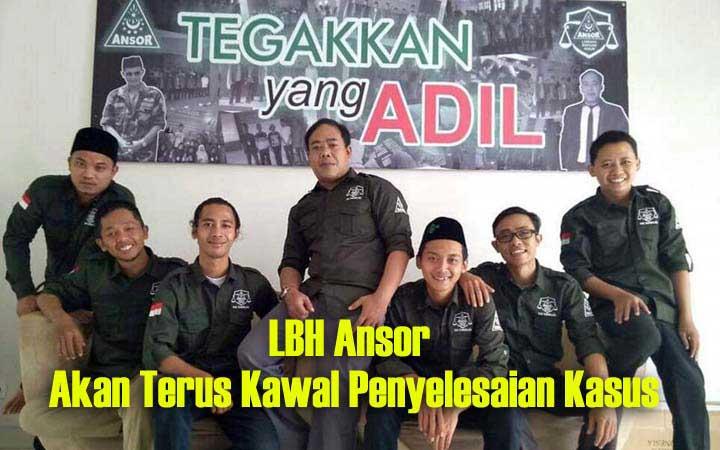 Koropak.co.id - LBH Ansor Tasikmalaya Harapkan Tersangka Pencabulan Anak Dihukum Maksimal