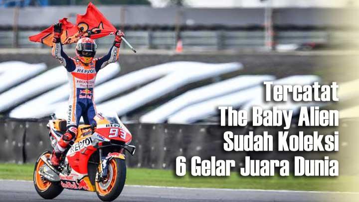 Koropak.co.id - Legenda MotoGP Yakin Marc Marquez Mampu Lewati Rekornya