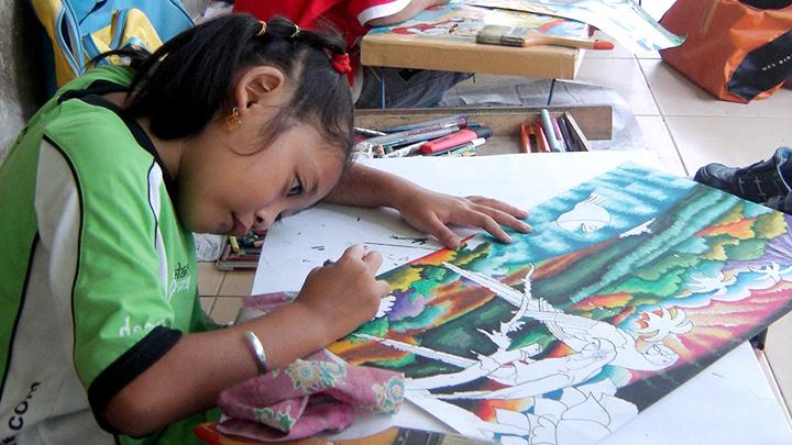 Koropak.co.id - Manfaat Menggambar dan Mewarnai Bagi Anak (2)