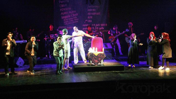 Meriah, Gelaran Rock opera Anak Desa Disambut Antusias