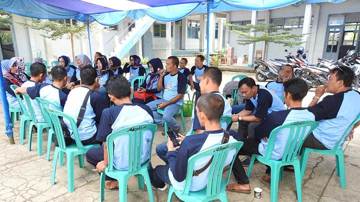 Koropak.co.id - Momentum Lebaran, SMA Muhammadiyah Kawali Reunian