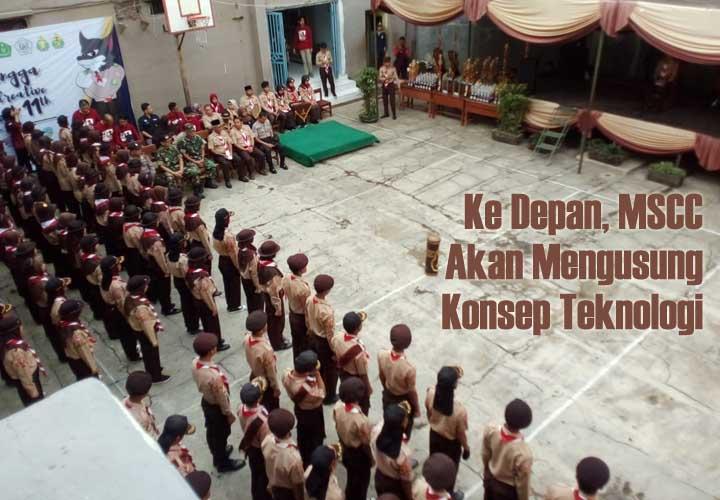 Koropak.co.id - MSCC SMK Manangga Pratama Berikan Pengalaman Berorganisasi (2)