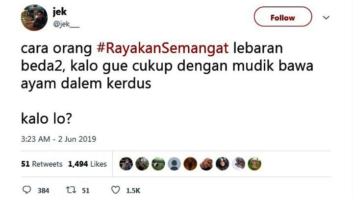 Koropak.co.id - Netizen Ramaikan Mudik dengan #RayakanSemangat (2)