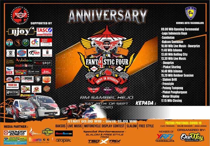 Koropak.co.id - Nmax Riders Tasikmalaya Siap Gelar Anniversary Ke-4 Unity In Diversity