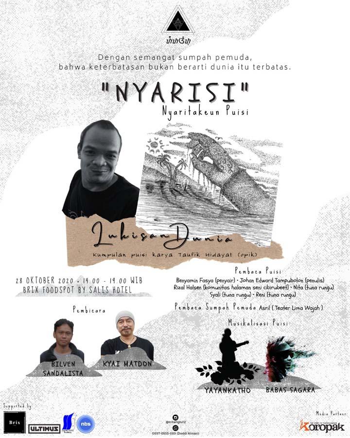 Koropak.co.id - Nyarisi, Bentuk Kepedulian Pemuda Pada Pelestarian Karya Sastra