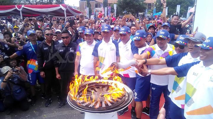 Koropak.co.id - Obor Asian Games Singgah di Garut (2)