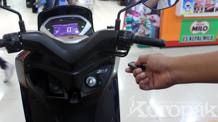 Yamaha Pamerkan Si Seksi Lexi di Plaza Asia Tasikmalaya
