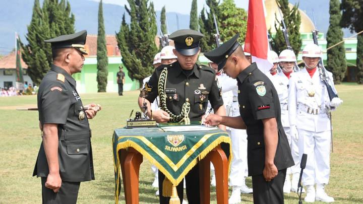 Koropak.co.id - Pangdam III Siliwangi Lantik Prajurit Siswa Dikmata TNI AD (2)