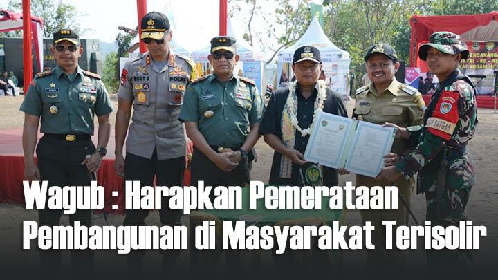 Koropak.co.id -  Pangdam IIISiliwangi Buka TMMD di Sumedang (2)