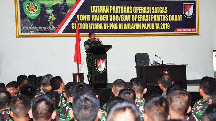 Koropak.co.id - Pangdam Tegaskan Tugas Operasi Kehormatan Prajurit (1)