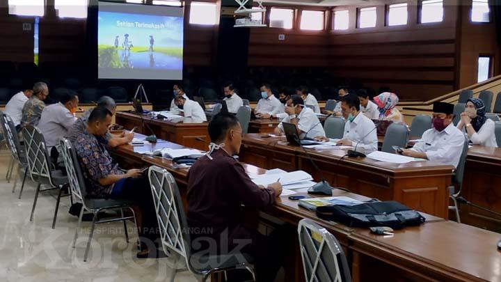 Koropak.co.id - Pansus DPRD Kota Tasikmalaya Soroti Berbagai Kegiatan Di Sejumlah Dinas
