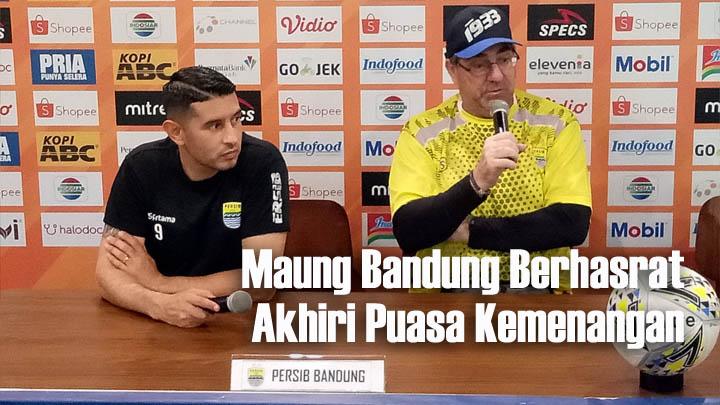 Koropak.co.id - Pekan ke-17, Persib Bandung Siap Bangkit Hadapi PSS Sleman 2
