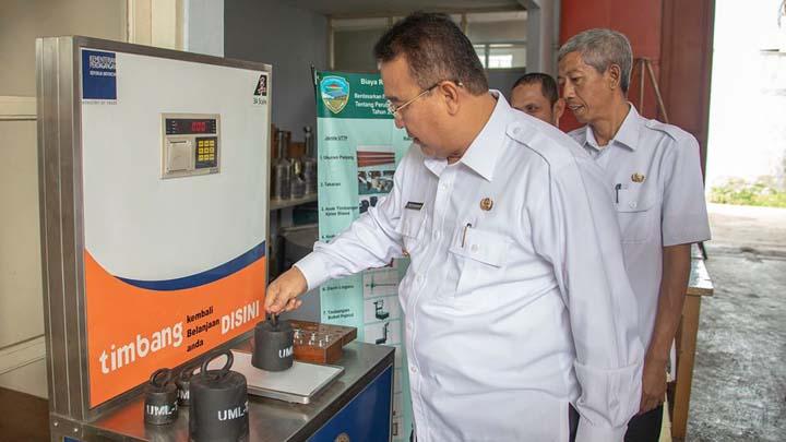 Koropak.co.id - Pemkot Tasikmalaya Tingkatkan Pengawasan Penggunaan Alat Ukur (2)