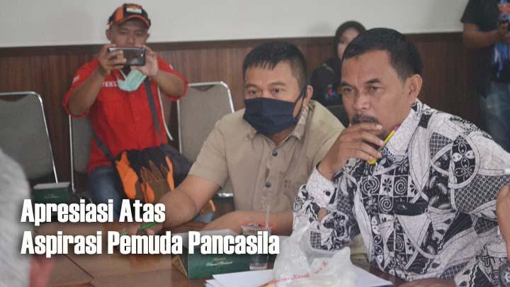 Koropak.co.id - Pemuda Pancasila Dorong DPRD Usut Tuntas Oknum Yang Bermain Dengan BPNT (2)