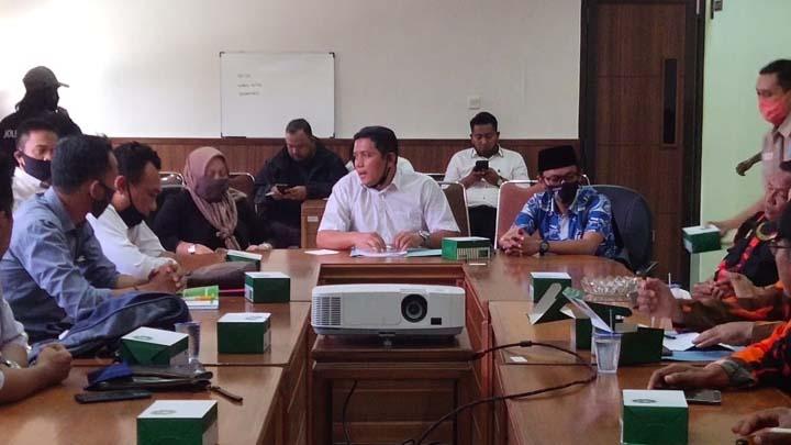 Koropak.co.id - Pemuda Pancasila Lakukan Audiensi Dengan Komisi IV DPRD Kota Tasikmalaya
