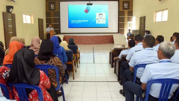 Koropak.co.id - Pengamanan Informasi, Lanud Wiriadinata Gelar Jam Komandan (3)