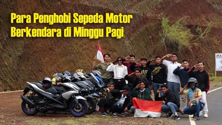 Koropak.co.id - Pengendara Motor Tasikmalaya Jalin Silaturahmi Melalui Sunday Morning Ride (2)
