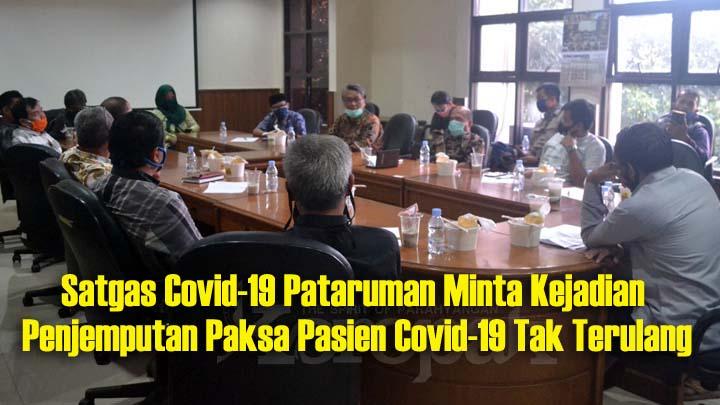 Koropak.co.id - Penjemputan Pasien Covid-19 Terkesan Seperti Menjemput Seorang Teroris (2)