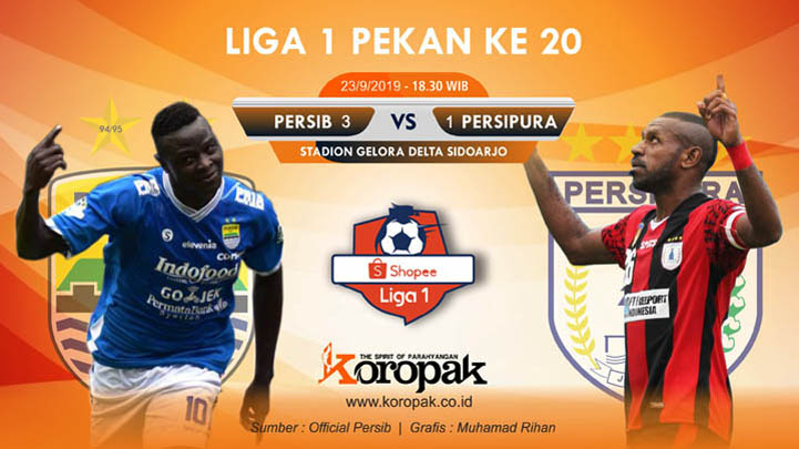 Koropak.co.id - Persib Bandung Pukul Mundur Persipura Dengan Skor 3-1 (2)