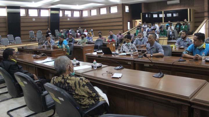 Koropak.co.id - PGM Kota Tasikmalaya Kembali Datangi DPRD Kota Tasikmalaya