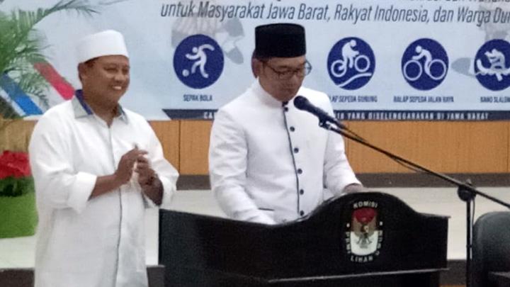 Pj Gubernur Jabar Syukuri Suksesnya Pilgub Jabar 2018