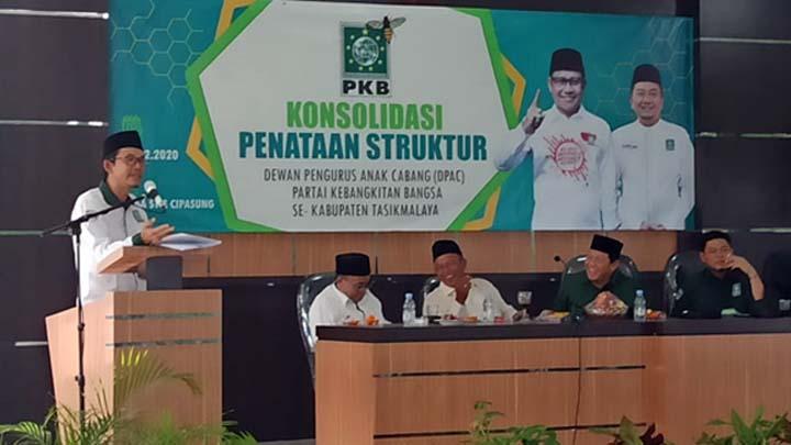 Koropak.co.id - PKB Kabupaten Tasikmalaya Gelar Konsolidasi Penataan Struktur DPAC (2)