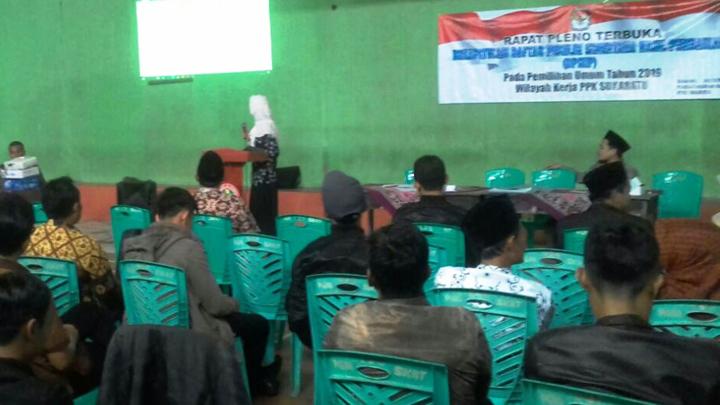 Pleno DPSHP di Ciawi dan Sukaratu Tuntas