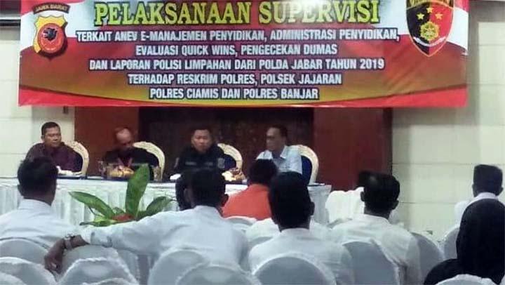 Koropak.co.id - Polda Jabar Supervisi 4 Program di Polres Ciamis dan Banjar