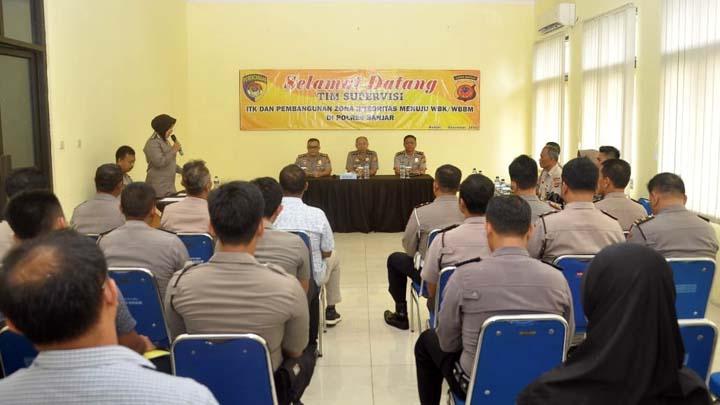 Koropak.co.id - Polres Banjar Raih Apresiasi Zona Integritas WBK dan WBBM (2)