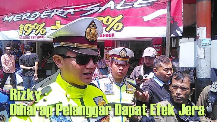 Koropak.co.id - Polres Garut Gelar Operasi Lodaya di Jalan Ahmad Yani (2)