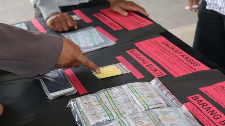Koropak.co.id - Polres Tasikmalaya Kota Ungkap 8 Kasus Narkoba Sepanjang Januari 2020 (2)