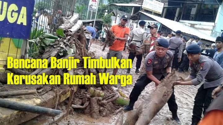 Koropak.co.id - Poltekpel Banten Bangun Posko Peduli Banjir Lebak Banten 2