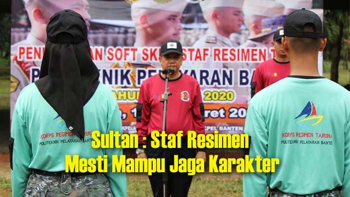 Koropak.co.id - Poltekpel Banten Bentuk Karakter Staf Resimen Taruna (2)