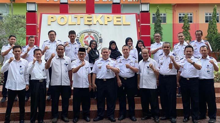 Koropak.co.id - Poltekpel Banten Jalin MoU Dengan Politeknik Negeri Lampung (2)