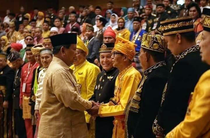 Koropak.co.id - Prabowo Sambut Dukungan Kerajaan Nusantara (2)