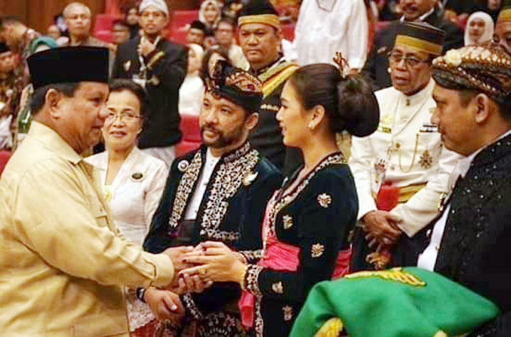 Koropak.co.id - Prabowo Sambut Dukungan Kerajaan Nusantara (3)