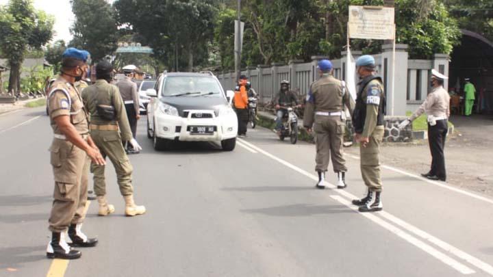 Koropak.co.id - PSBB Tahap 3, Akses Masuk Kota Tasikmalaya Lebih Diperketat