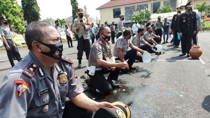 Koropak.co.id - Puluhan Personel Polres Tasikmalaya Alami Kenaikan Pangkat