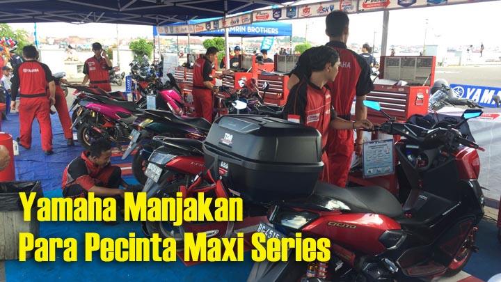 Koropak.co.id - Ratusan Riders Ramaikan Maxi Yamaha Day Palembang (2)