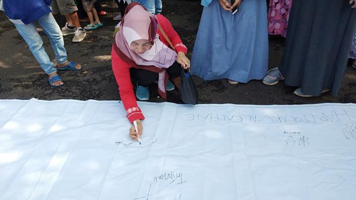Koropak.co.id - Remaja Muslim Ciamis Tolak Valentine Days (2)