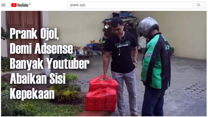 Koropak.co.id - Reza Arap Kecam Youtuber Pembuat Konten Prank Ojol (1)