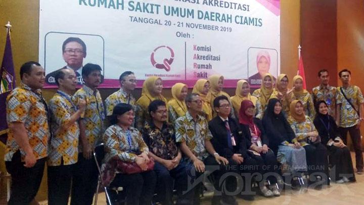 Koropak.co.id - RSUD Kabupaten Ciamis Tuntas Lakukan Verifikasi Akreditasi (2)