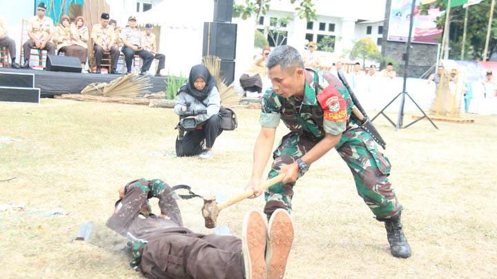 Koropak.co.id - Saka Wira Kartika Tampilkan Debus di Hari Pramuka Nasional (1)