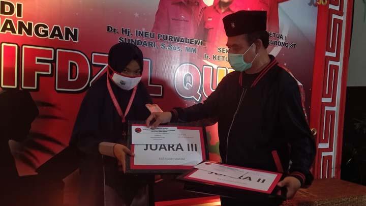 Koropak.co.id - Santriah Asal Mangunreja Kabupaten Tasikmalaya Meraih Juara III MHQ Jabar (2)