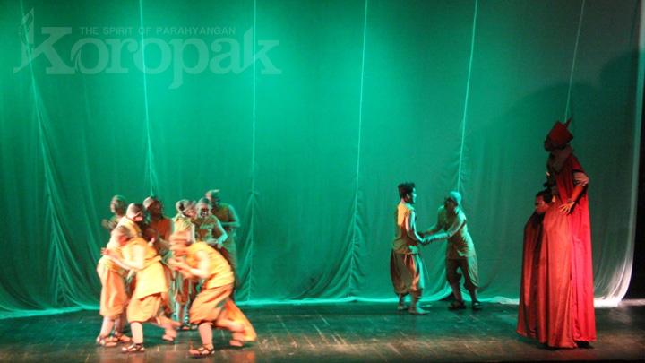 Koropak.co.id - Sebalut Pilu Indonesia Dalam Pentas Ngaos Art 2