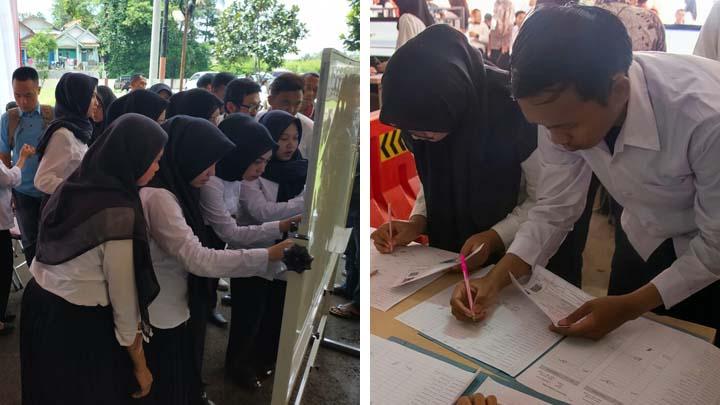 Koropak.co.id - Sebanyak 1.600 Peserta Ikuti Seleksi CPNS di Kota Tasikmalaya