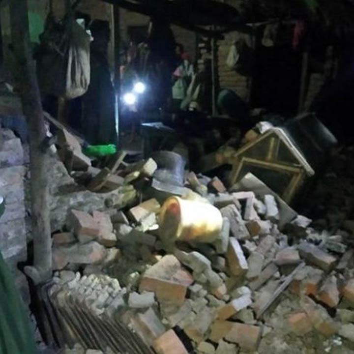Koropak.co.id - Sebanyak 200 Bangunan dan 2 Meninggal Akibat Gempa Banten (2)