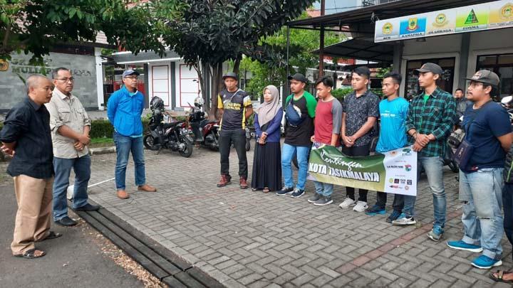 Koropak.co.id - Sekda Kota Tasikmalaya Lepas 5 Atlet Ke Kejurprov Arung Jeram 2019