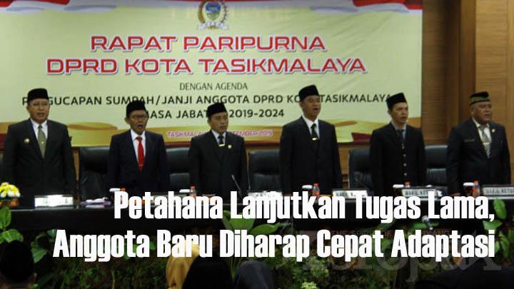 Koropak.co.id - Sekretaris DPRD Kota Tasikmalaya Harapkan Dewan Bisa Cepat Adaptasi (2)