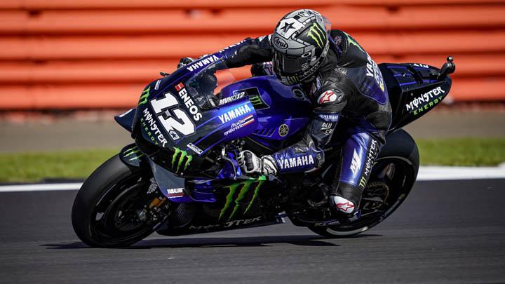 Koropak.co.id - Seri MotoGP Inggris, Maverick Vinales Finis Diposisi Ketiga (1)